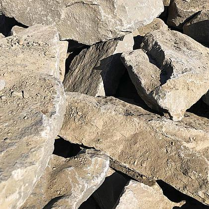 Northwest Grey 1-2' Basalt Boulders