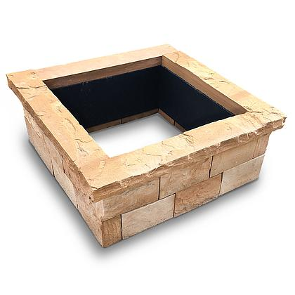 Fire Pit Kit Square Torrey