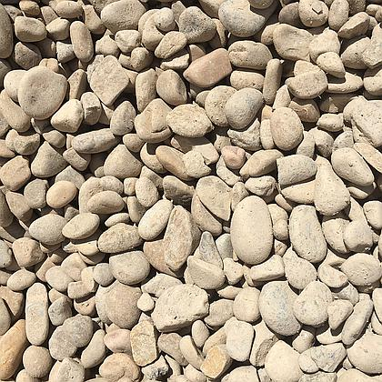 "River Rock Cobble 1-2"" Bulk"