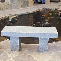 Mountain Ash Granite 3' Bench